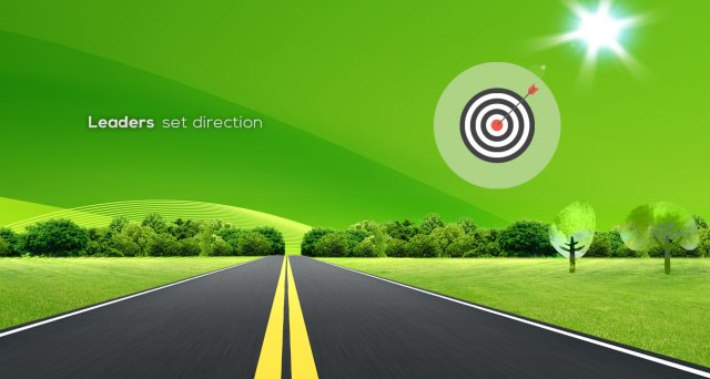 Illustration Leaders Set Direction 1a